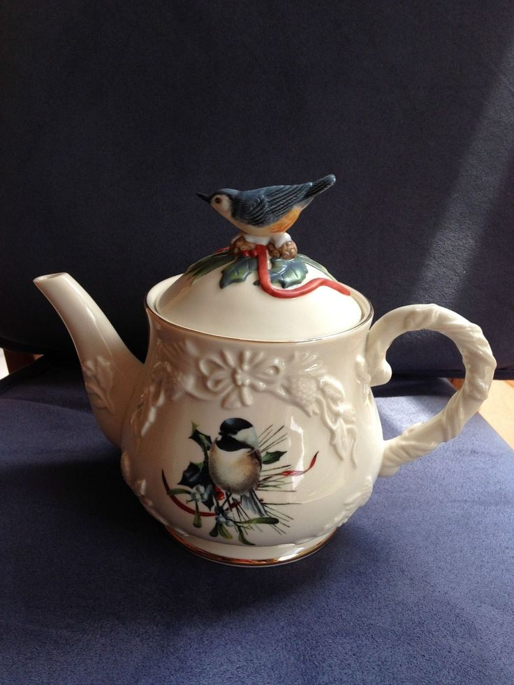 124 Best Images About Lenox Teapots On Pinterest Fine