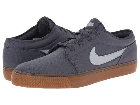 Nike Toki Textile - Low Dark Grey/Gum Medium Brown/Wolf Grey - Zappos