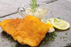 Cabillaud pané au citron et sa mayonnaise à l'estragon, un délicieux poisson pané maison
