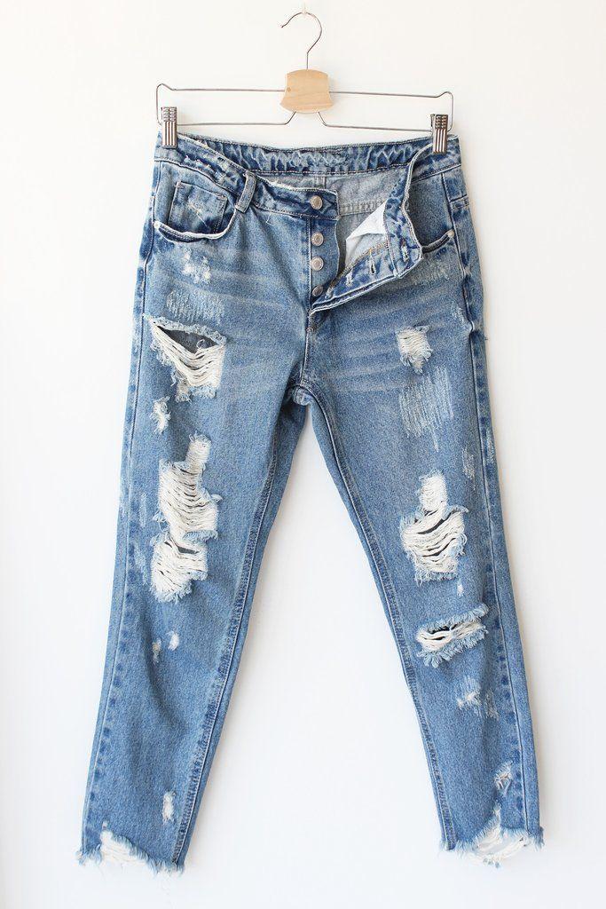 Zahara Distressed Jeans