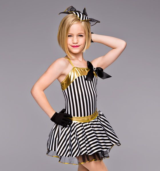 Theatricals Costumes Lullaby of Broadway Girls Costume Set