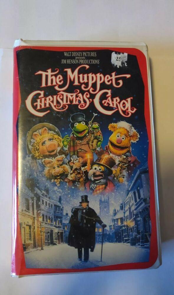 Muppet Christmas Carol Vhs.The Muppet Christmas Carol Vhs 1993 Disney Jim Henson Video