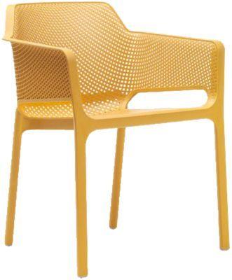 #Unisex #Kunststoff #Gartenstuhl #Ella #stapelbar #senf Ob für den privaten Wohnbereich oder für den Gastronomiebereich – mit diesem Gartenstuhl ´´Ella´´ liegen Sie immer richtig: er vereint zeitlose Eleganz mit hohem Sitzkomfort. Die bequeme Sitzschale ist körpergerecht geformt während Sitzfläche und Rückenlehne mit einem atmungsaktiven Gittermuster überzeugen. Da er mit anderen Stühlen stapelbar ist, handelt es sich um einen sehr platzsparenden Gegenstand. Der Stuhl besteht aus einem…