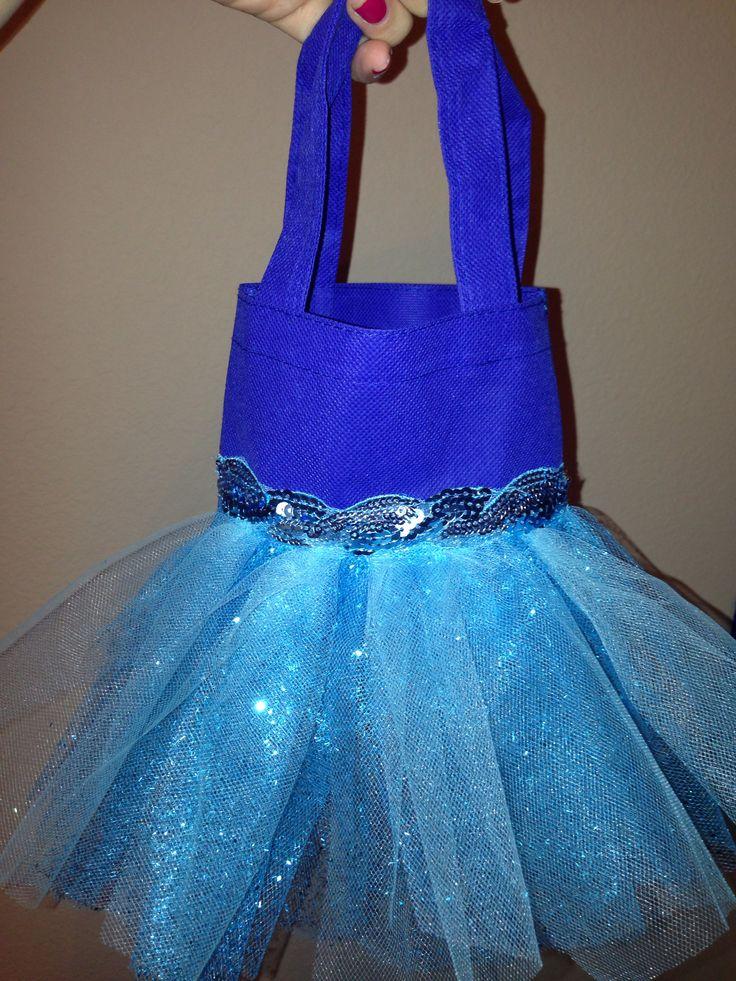 Mini Tutu Totes Frozen Disney Great Idea For A Party Favor Frozen Birthd