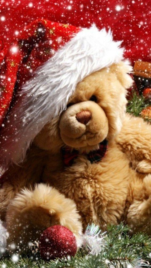 139 best ~ Teddy Bear Christmas ~ images on Pinterest | Teddy ...