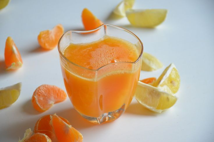 Rychlá ranní mandarinková šťáva | LAHODNÝ BLOG