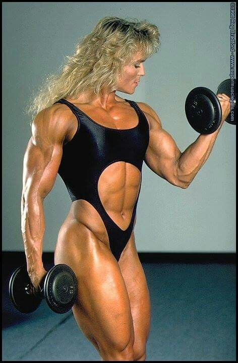 One piece female muscle growth