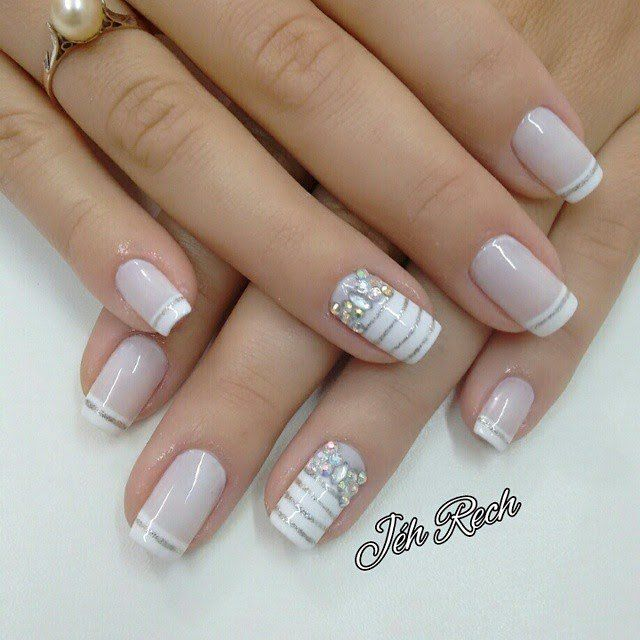 6260 Best Funky French Tip Nails Images On Pinterest Nail Art Designs Make Up And Pretty Nails