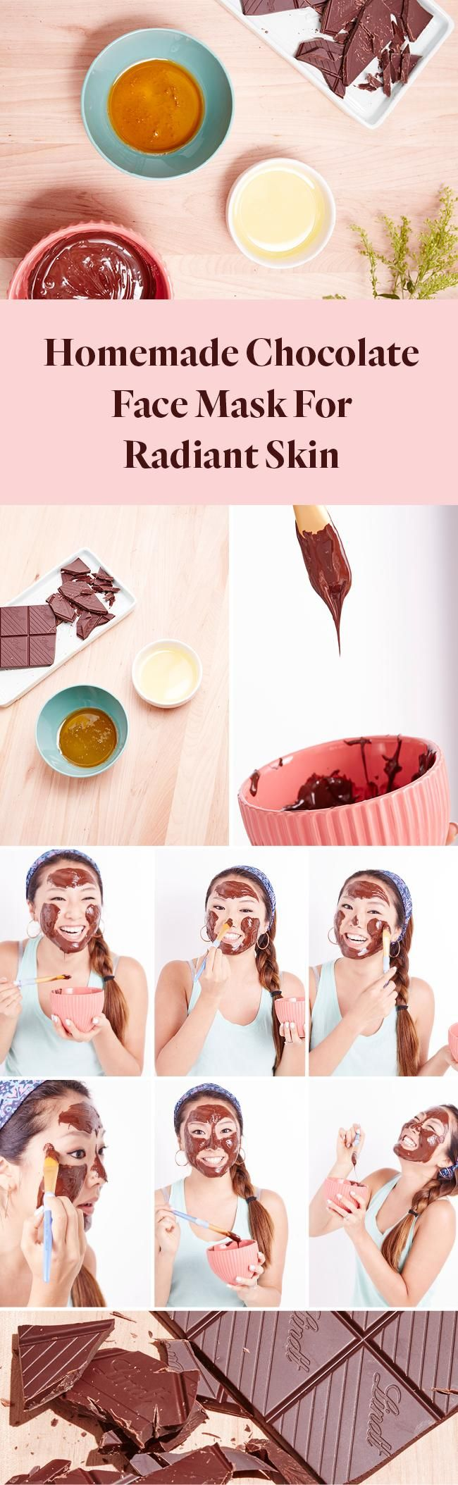 If you love chocolate as much as we do, you'll be happy to hear that there's a way to indulge yourself without the extra calories with our DIY chocolate facial mask! Plus, today is National Chocolate Day, so why not?