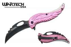 A pink pocket knife is the perfect gift for females who want to carry a knife with them. These are small enough to easily fit in a pocket or handbag,...