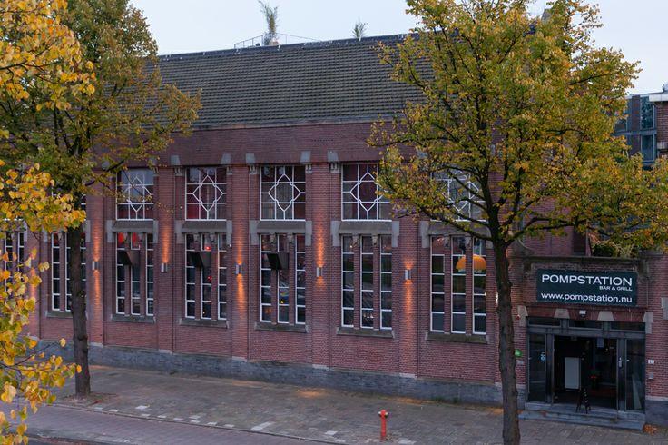 Restaurant Pompstation at Zeeburgerdijk