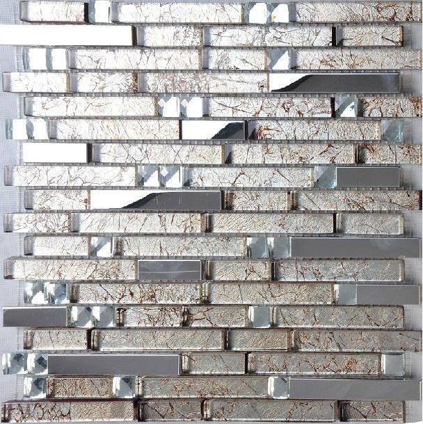 Black Kitchen Tiles B Q: Best 25+ Stainless Steel Backsplash Tiles Ideas On