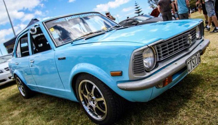 Remontándonos años atrás, presentamos el antecesor del Corolla, el Toyota Corolla Ke20 1972. #MásQuePasión