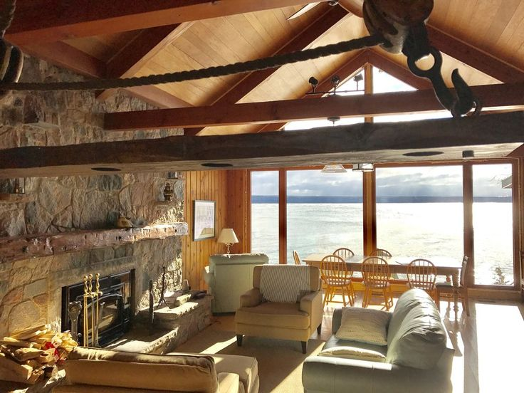 Create Your Dream....A Luxury Waterfront Escape . Greystone Cottage has everything you need to create a unique and wonderful vacation experience.  With gorg...