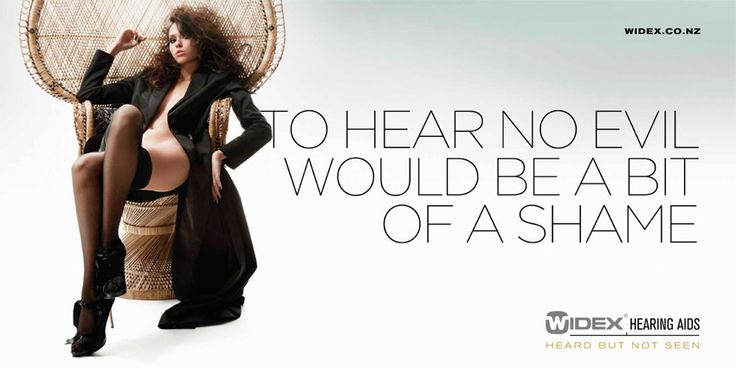 Ads of the World featured Widex Hearing Aid Ad | Editorial Styling: People with disabilities | Pinterest | Hearing aids, Ads and Advertising