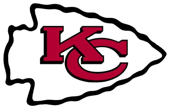Kansas City Chiefs Primary Logo (1963 - present) - Interlocking KC in an arrowhead. One of my favorite teams (#1 football) and team logos.