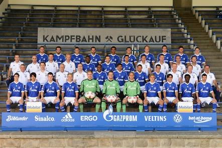 Mannschaftsfoto: FC Schalke 04