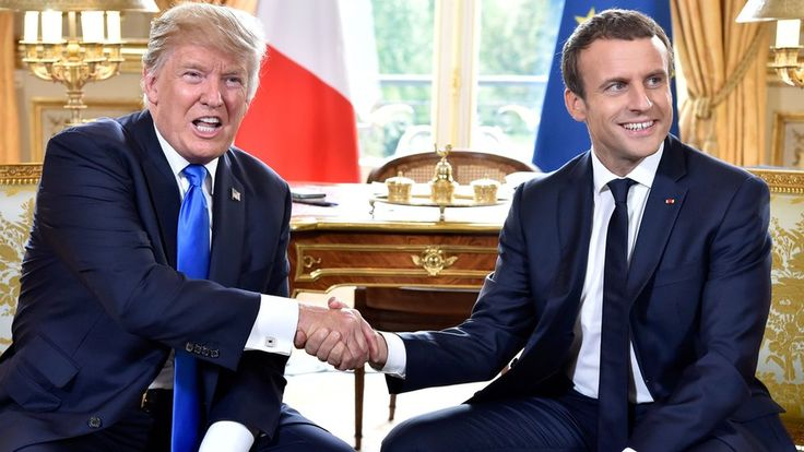 """Trump hints at climate deal shift in Paris talks https://tmbw.news/trump-hints-at-climate-deal-shift-in-paris-talks  French President Emmanuel Macron said he """"respected"""" Donald Trump's decision to pull out of the Paris climate accord but that France would remain committed.""""On climate we know what our differences are,"""" Mr Macron said in Paris on Thursday, adding that it was important to move forward.Speaking alongside Mr Macron, Mr Trump then hinted that the US could shift its position but…"""