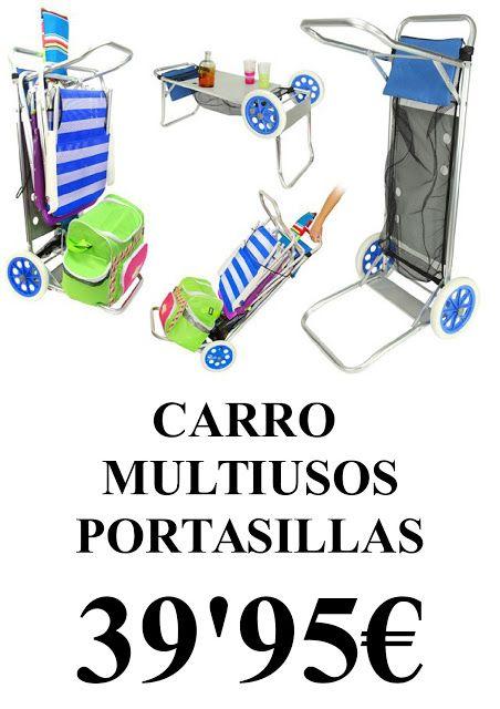 Centro comercial mediterraneo carro multiusos - Carro playa carrefour ...