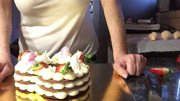 Szív torta készítése