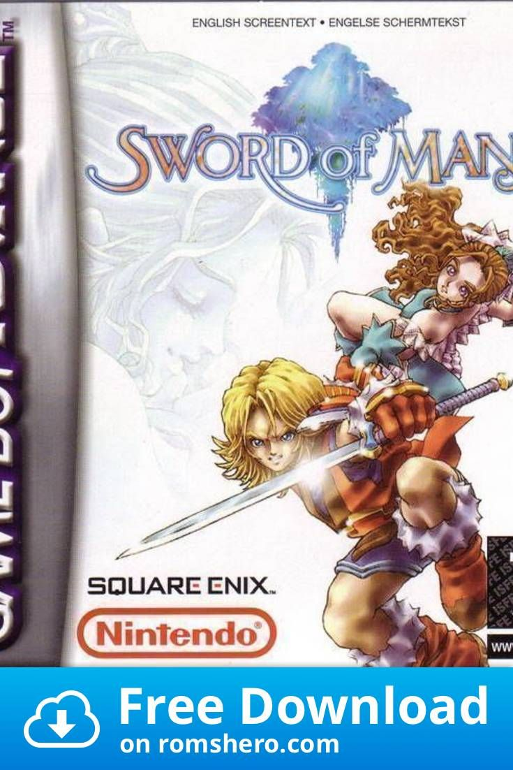 Download Sword Of Mana Gameboy Advance Gba Rom Gameboy Advance Gameboy Gba
