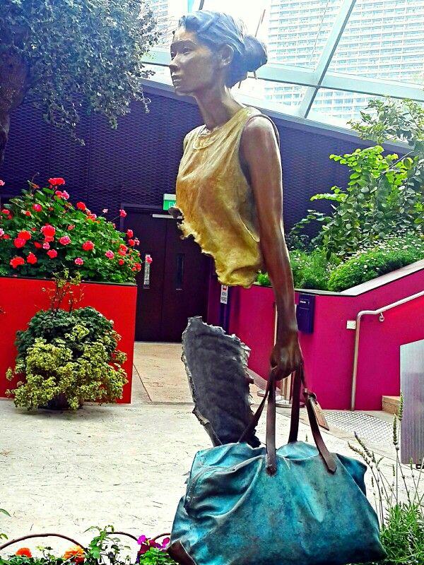 Leaving. (Garden by the bay,Dpore)