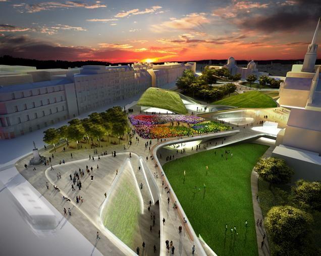 Diller Scofidio + Renfros Aberdeen Garden City Proposal Nixed