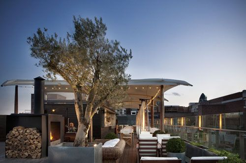 Rooftop at Boundary, London