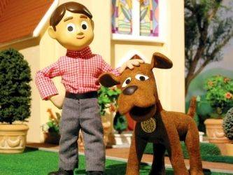 Remember waking up so early there was nothing but Davey and Goliath on?