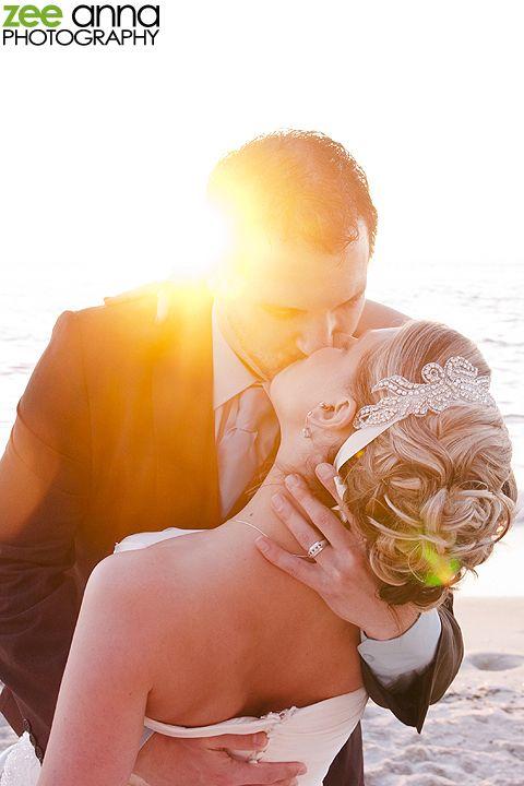 Naples Beach Wedding - LOVE the groom ring shot!