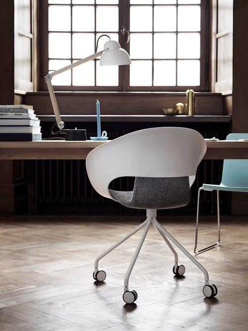 Deli armchair with frame on wheels. Design Thomas Pedersen. #skandiform #deli
