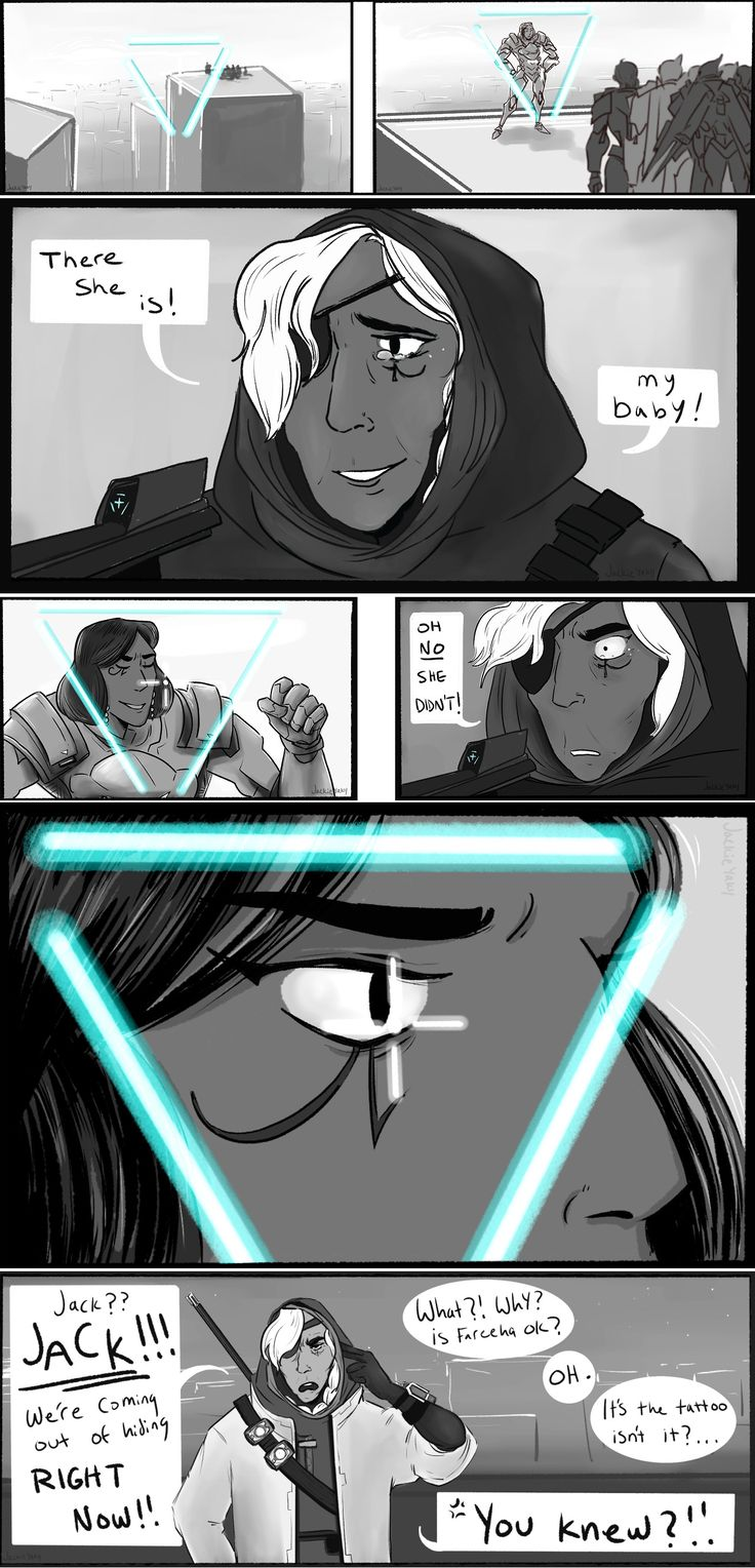 Ana Reacts to Pharah's Tattoo | Overwatch | Know Your Meme oh no she didn't