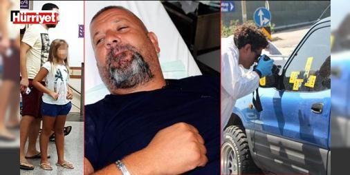 Kızının yanında ateş açtılar!: Bodrum'da berber dükkanı ve pansiyon işleten 44 yaşındaki Halil Arıcan iddiaya göre eski ortaklarınca kızının gözleri önünde aracında kurşunlandı. Saldırganlardan biri yakalanırken hafif yaralanan Arıcan kaldırıldığı hastanede tedaviye alındı.