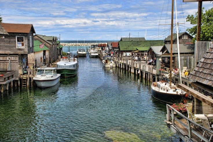 763 best michigan i love you images on pinterest leland for Fish town usa