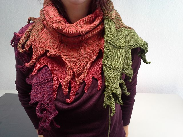 Ravelry: feendrache's Dragonfire / Drachenfeuer Patterncreation