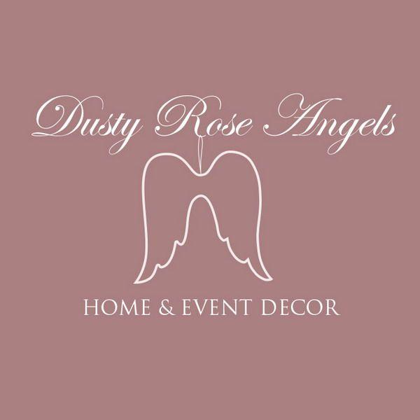 Dusty Rose Angels - logo