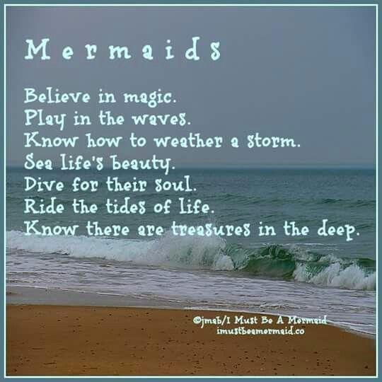 It's a mermaid thing... Mermaid poem