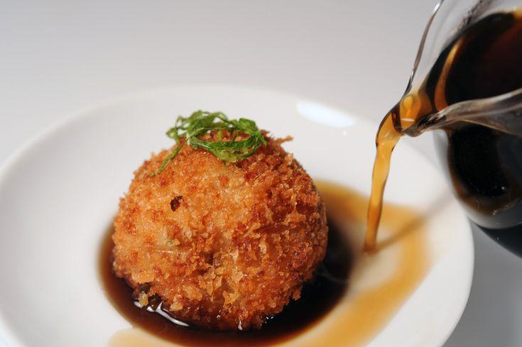 fried spicy tuna balls | Yummy | Pinterest