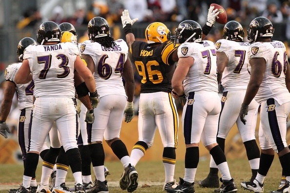 Ziggy Hood Photo - Baltimore Ravens v Pittsburgh Steelers