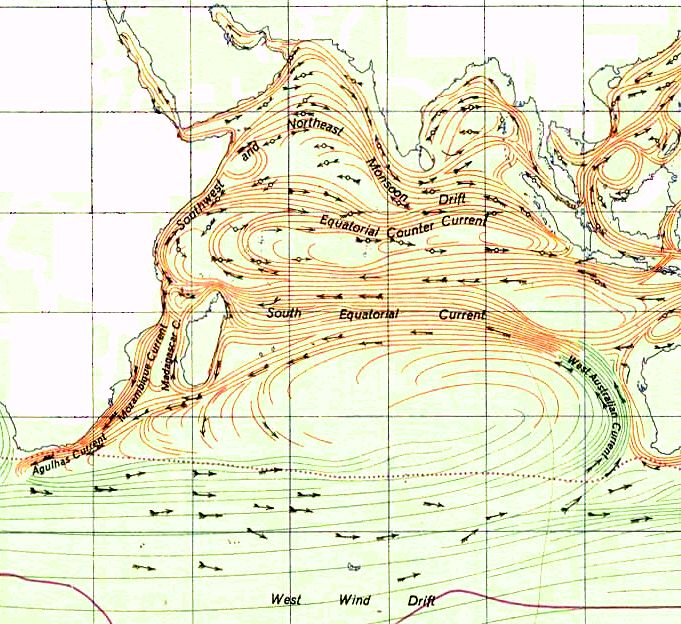 Indian Ocean Gyre Indian Monsoon Current Wikipedia