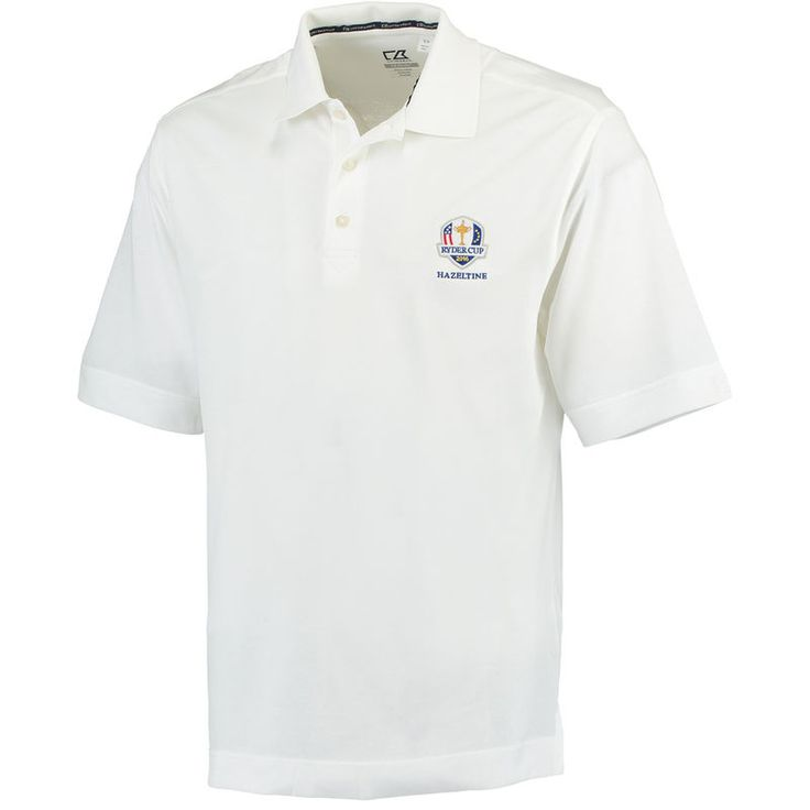 Cutter & Buck 2016 Ryder Cup Championship DryTech Polo - White