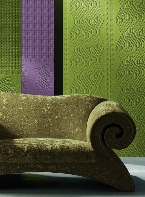 Walls that will make people talk with paintable wallpaper http://lelandswallpaper.com. Height: 21 in  Repeat: none  Length: 15 ft (SINGLE ROLL)  un-pasted, scrubbable, strippable, expanded vinyl  Dots and wavy lines can be used below a chair rail in the horizontal, or placed along a vertical line and repeated back to back to create movement along a wall. $23.99 per single roll: Vinyls Dots, Expanding Vinyls, Doric Columns, Chairs Railings, Paintabl Wallpapers, Ft Single, Ontario Wallcov, Dado Features, Columns Dado