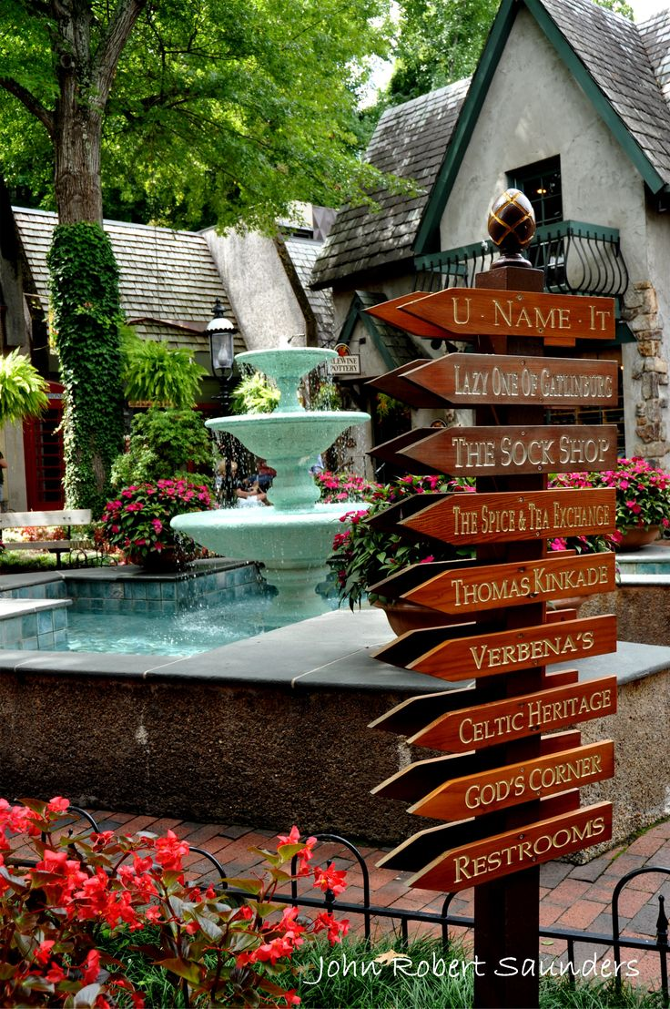 The Village is home to 27 amazing shops! Gatlinburg, Tennessee has so much to offer!