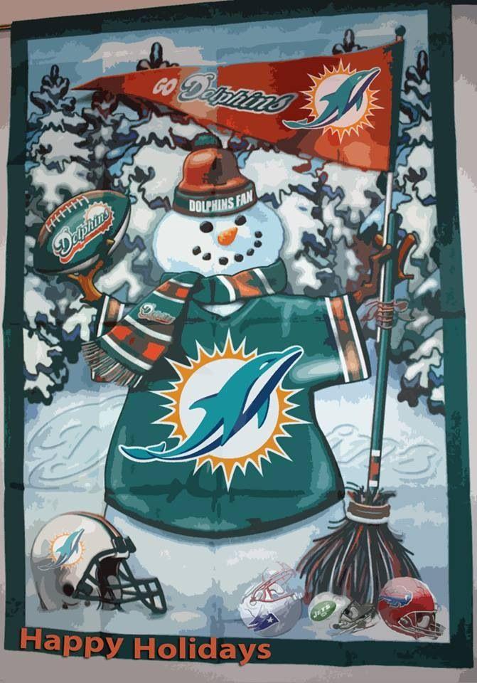 Merry Miami Dolphins Christmas!