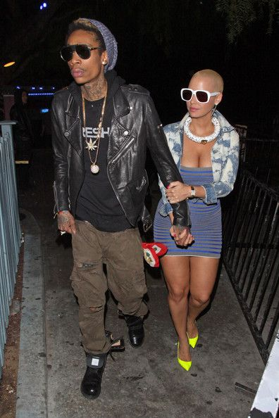"After Amber Rose and Wiz got together and he said, ""I love you"", he stopped rapping to and for bitches, I think you can manage to stop tweeting and facebooking them for a while..."