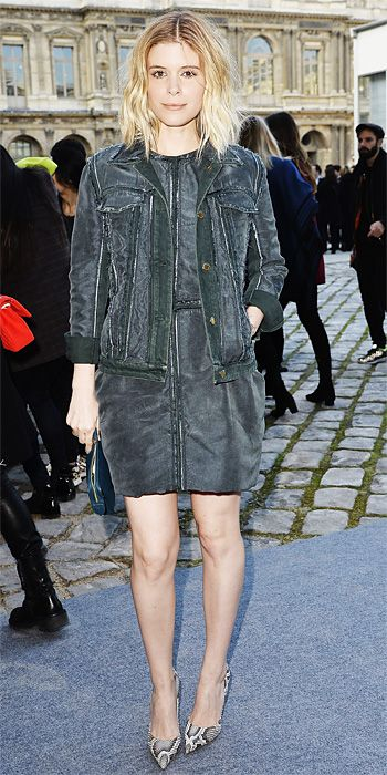 Look of the Day - March 5, 2014 - Kate Mara in Louis Vuitton from #InStyle