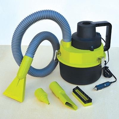 A must have!  Clean your car without the heavy vacuum! This Wet Dry Vacuum is compact and mini, making it easier to handle and clean up crumbs, dust and even liquid spills!! Plus straight into your 12 volt outlet in the car and includes 4 convenient attachments so you can reach all those tight spaces!  Find it here: http://goo.gl/tGe20m