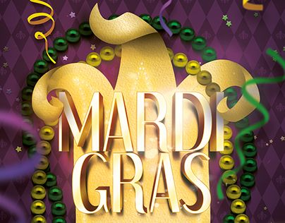 "Check out new work on my @Behance portfolio: ""Mardi Gras Poster Template"" http://be.net/gallery/48225875/Mardi-Gras-Poster-Template"