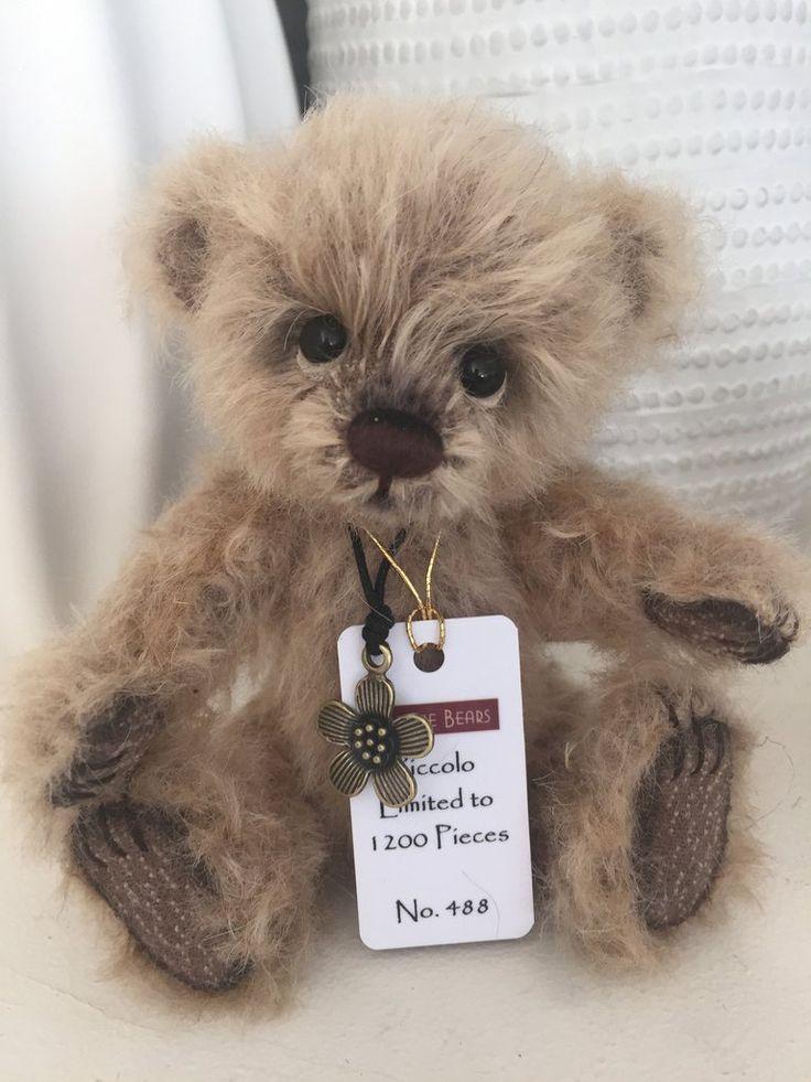 Piccolo Minimo Mohair Teddy Bear