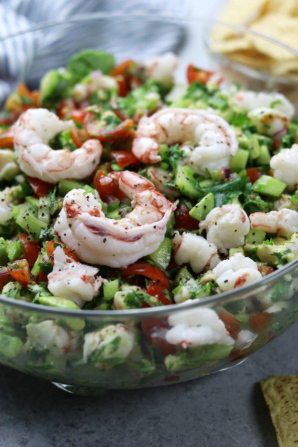 Light and refreshing, California Shrimp Ceviche makes a perfect appetizer or meal replacement. A wonderful companion to healthy chips or stuffed in a lettuce leaf.